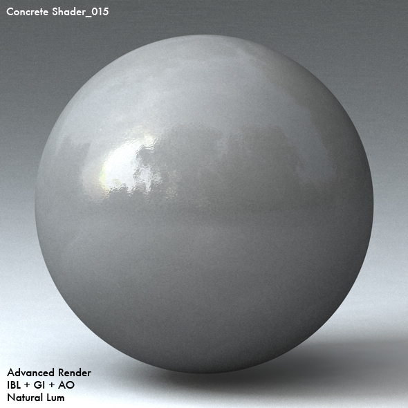 Concrete Shader_015 - 3DOcean Item for Sale