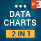 2 In 1 Data Charts PowerPoint Presentation Template Bundle - GraphicRiver Item for Sale