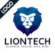 Lion Technology - Logo Template - GraphicRiver Item for Sale