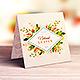 Square Invitation & Greeting Card Mockup - GraphicRiver Item for Sale