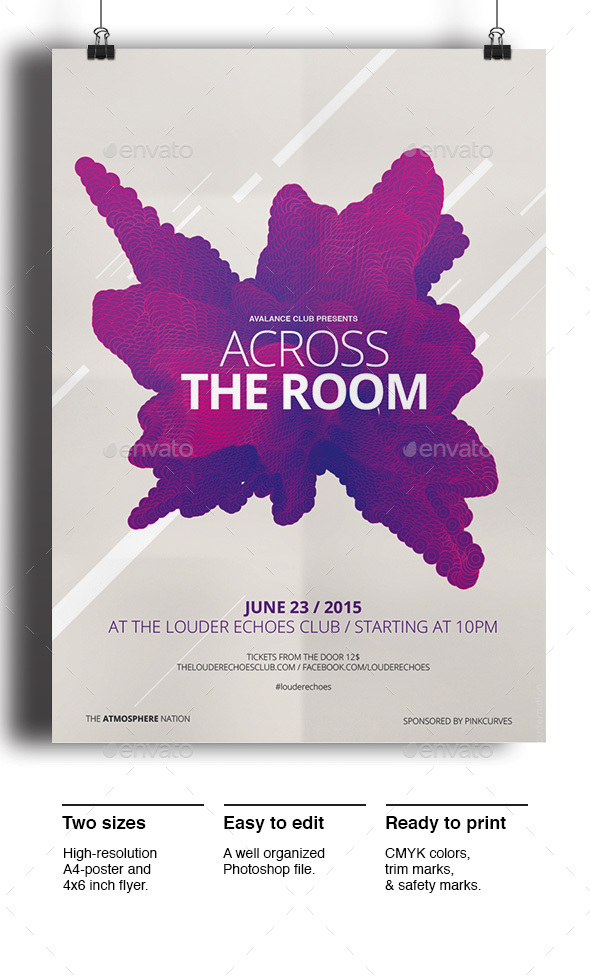 Across the Room - Clubs & Parties Events