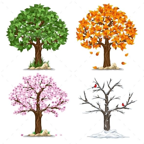 Four Seasons - Seasons Nature