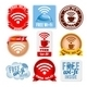 Free Wi-Fi Icons Set - GraphicRiver Item for Sale