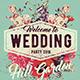 Vintage Wedding Poster - GraphicRiver Item for Sale
