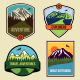 6 Travel Badges and Emblems - GraphicRiver Item for Sale