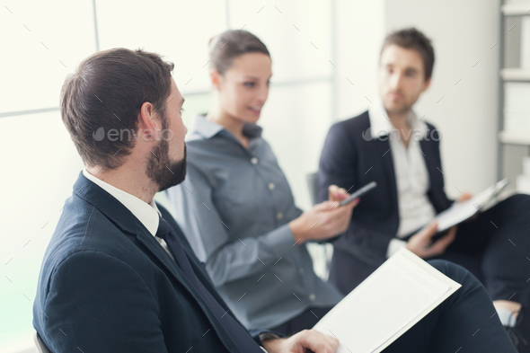 Business people at the meeting - Stock Photo - Images