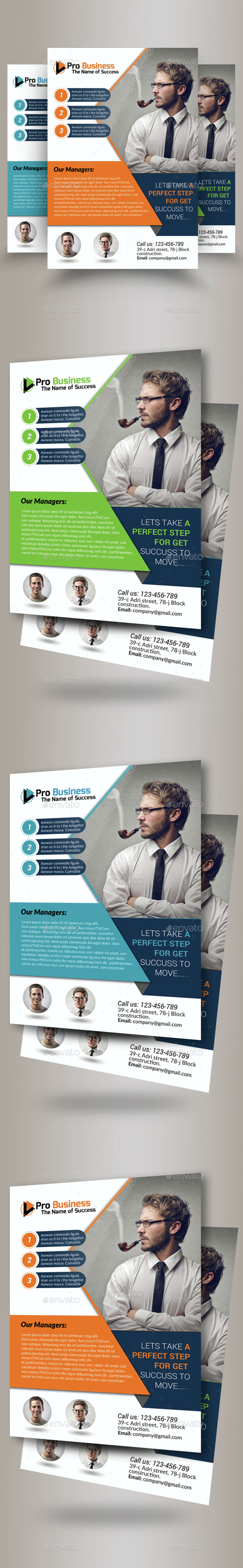 Business Training Agency Flyer Template - Corporate Flyers