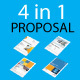 Proposal Bundle | 4 in 1 - GraphicRiver Item for Sale