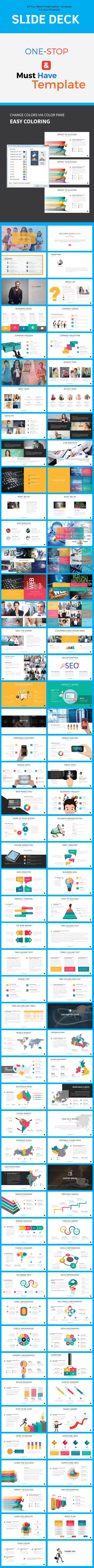 Startup Slide Deck - Pitch Deck PowerPoint Templates