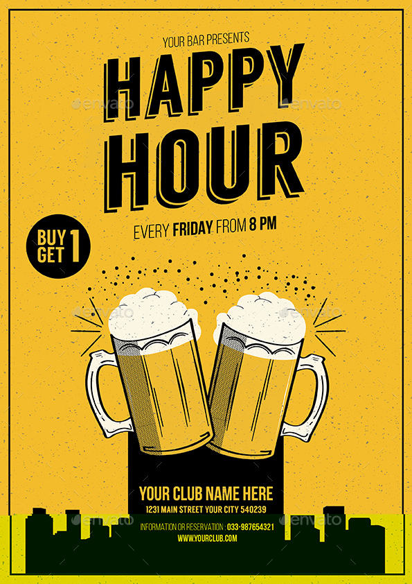 happy hour beer promotion bundle by guuver