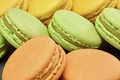 Macarons, french dessert, background. Food closeup - PhotoDune Item for Sale