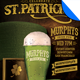 Saint Patrick's Day Event Flyer Template