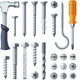 Repair Tools Flat Icons Set - GraphicRiver Item for Sale