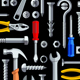 Seamless Repair Tools Pattern - GraphicRiver Item for Sale