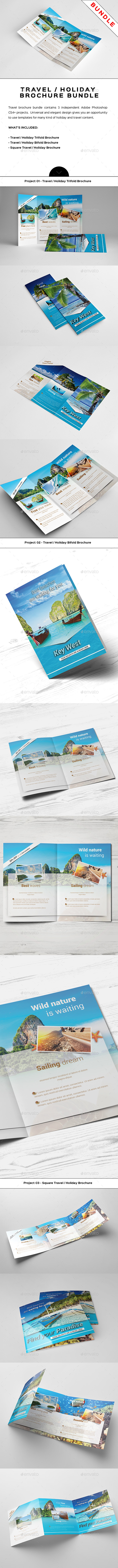Travel / Holiday Brochure Bundle - Informational Brochures