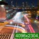 Traffic Intersection at Night - VideoHive Item for Sale