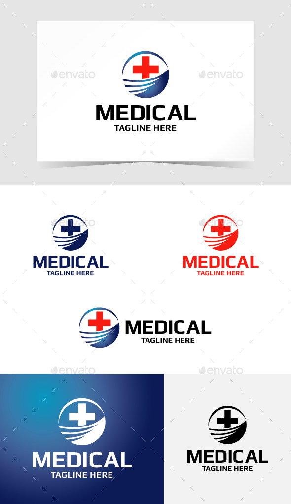Medical Logo Template - Symbols Logo Templates