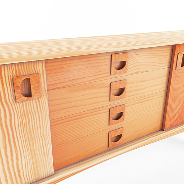 Wall Desk - 3DOcean Item for Sale