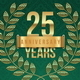 Anniversary Golden Emblems and Decorative Elements - GraphicRiver Item for Sale
