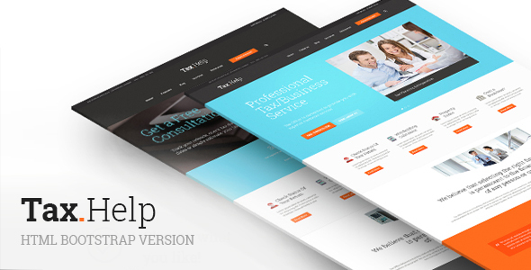 TaxHelp-HTML | Finance & Accounting HTML Template