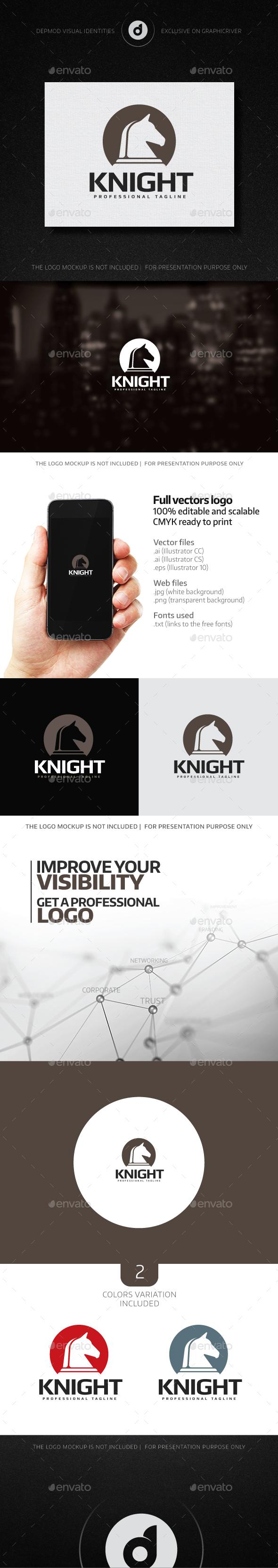Knight Logo - Symbols Logo Templates
