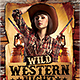 Wild Western Night - GraphicRiver Item for Sale
