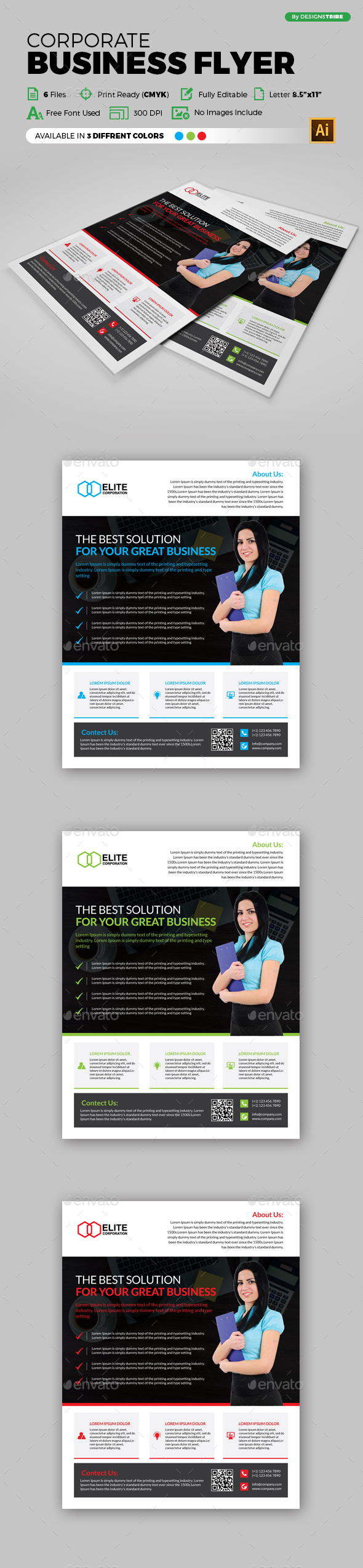 Flyer – Multipurpose 124 - Corporate Flyers