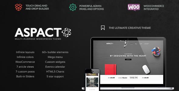 Aspact - Creative Agency Theme - Creative WordPress