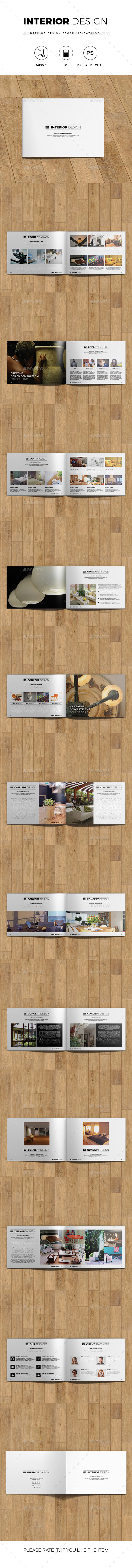 Minimal Interior Design Catalog/Brochure - Catalogs Brochures