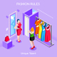 Fashion People Isometric - GraphicRiver Item for Sale