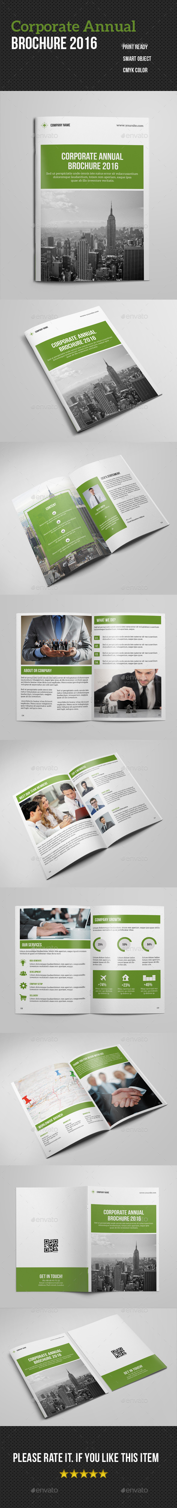 Bi- Fold Corporate Annual Brochure 2016 - Corporate Brochures