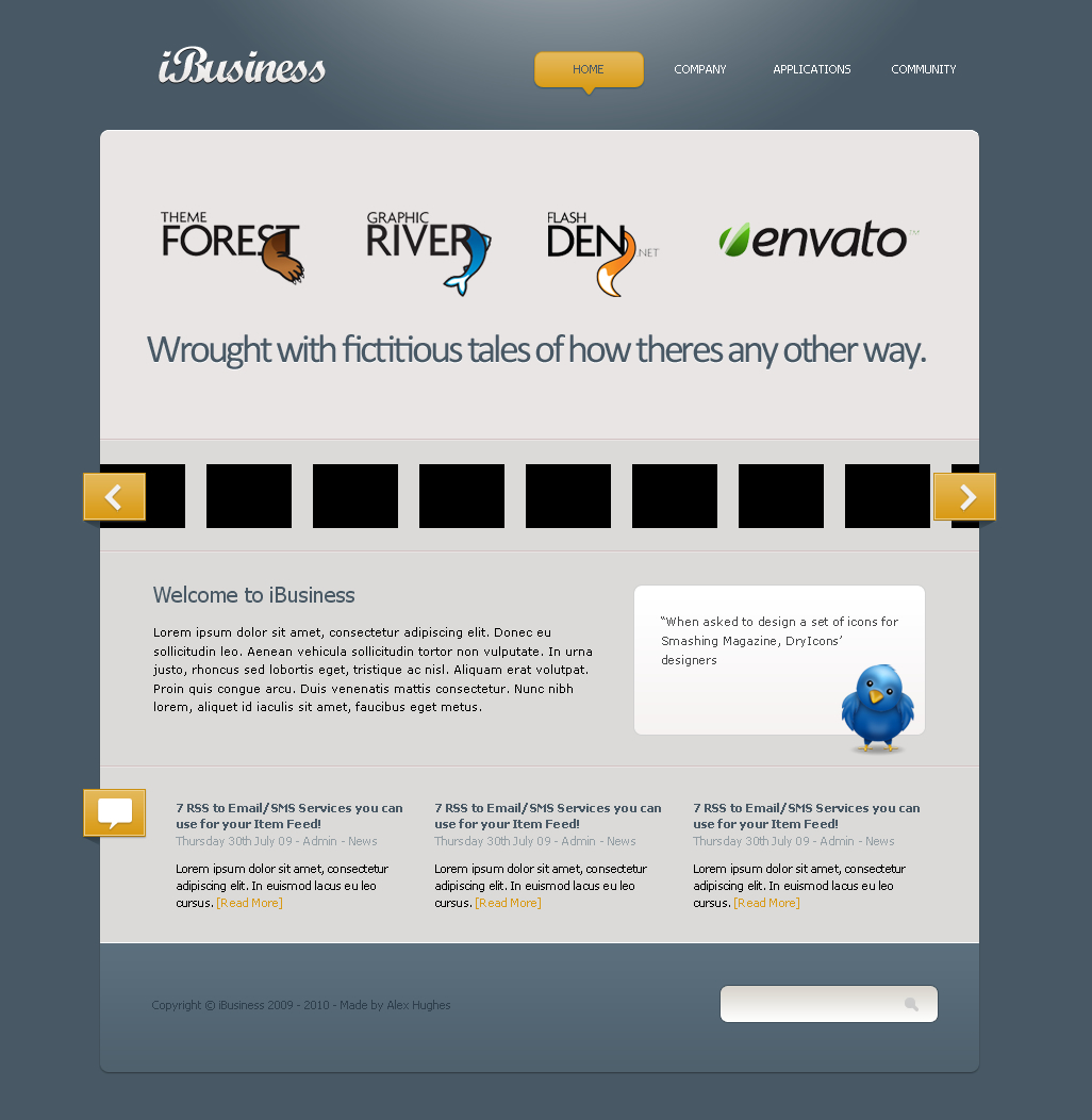 Free Download iBusiness XHTML & CSS Theme Nulled Latest Version