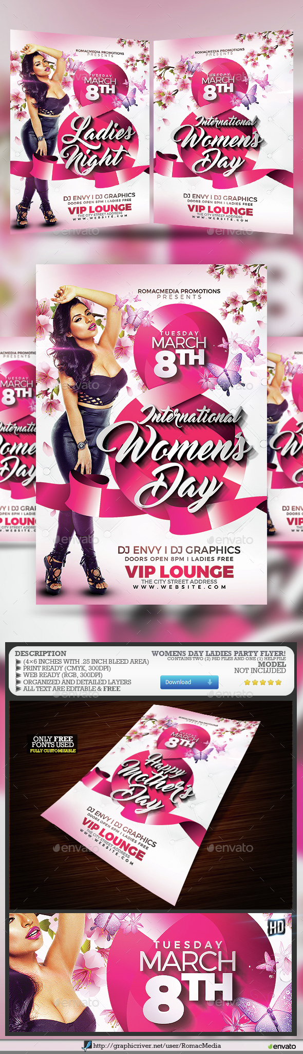 Women's Day Ladies Party - Clubs & Parties Events