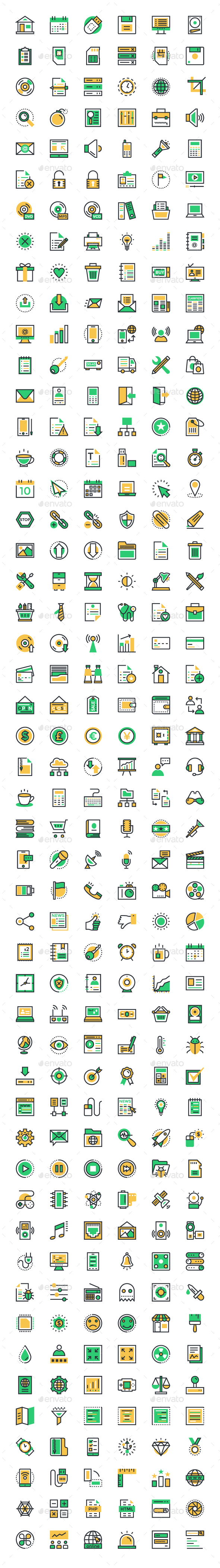 300 User Interface and Web Icons - Web Icons