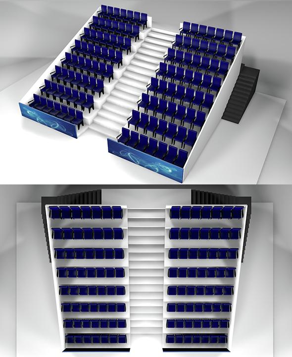 Terraces - 3DOcean Item for Sale