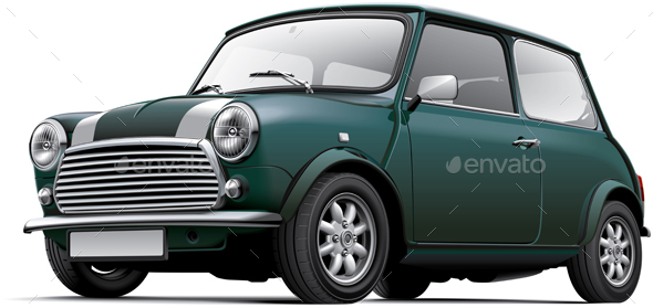 British City Car - Man-made Objects Objects