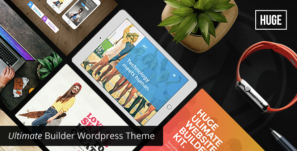 HUGE – Ultimate Builder WordPressTheme