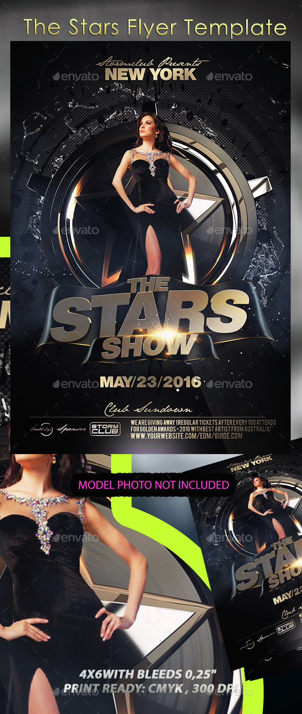 The Stars Flyer Template - Events Flyers