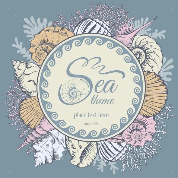 Sea Theme - Backgrounds Decorative