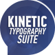Kinetic Typography Suite - VideoHive Item for Sale