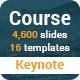 Course Multipurpose Keynote Presentation Template - GraphicRiver Item for Sale
