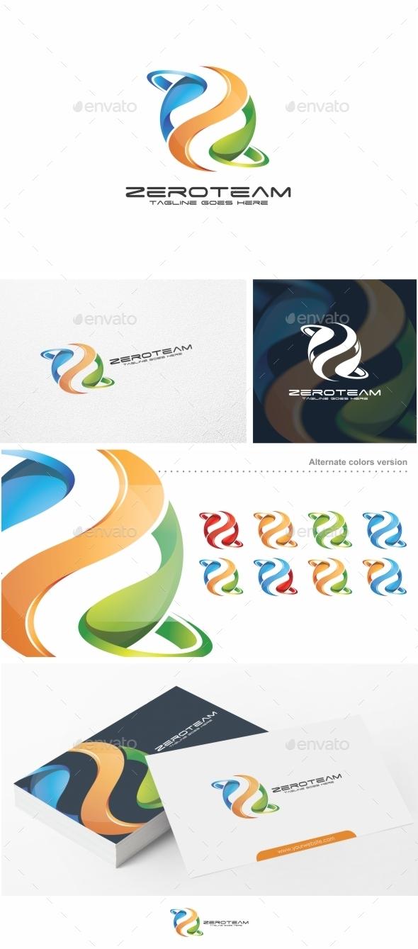 Zeroteam / Letter Z - Logo Template - Letters Logo Templates