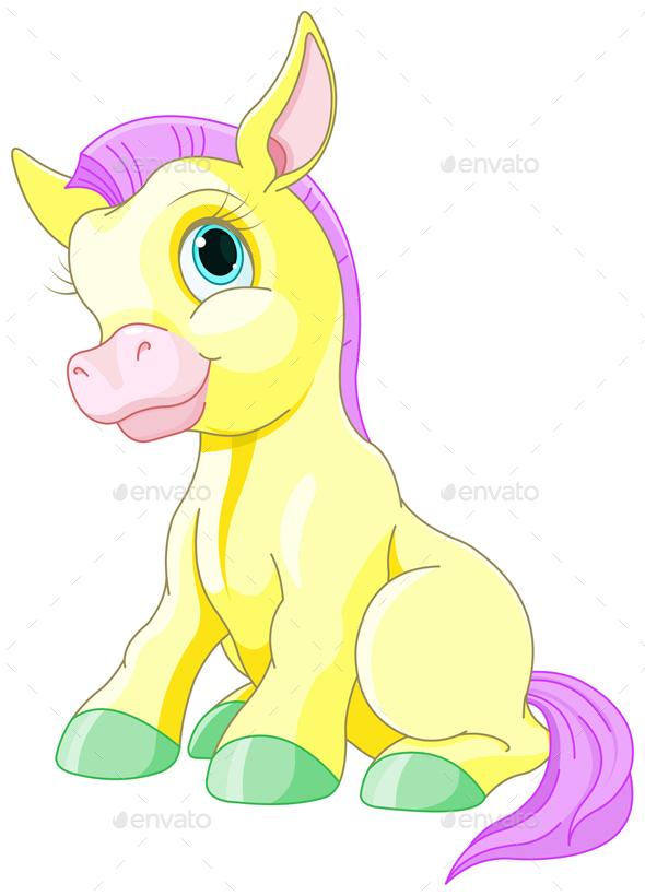 Magic Pony - Animals Characters