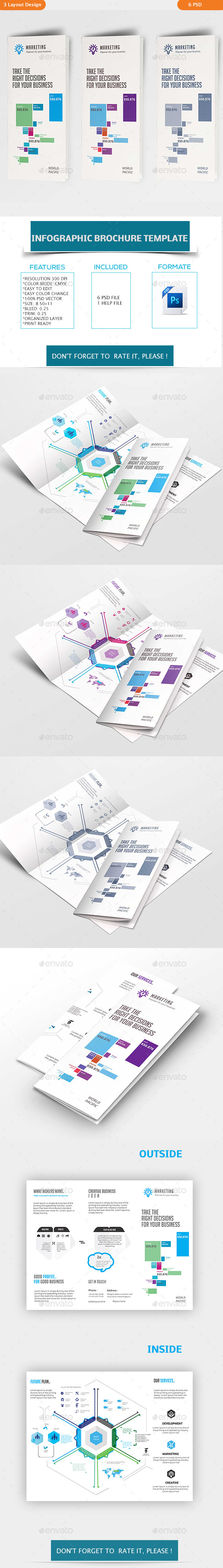 Infographic Brochure Template - Print Templates