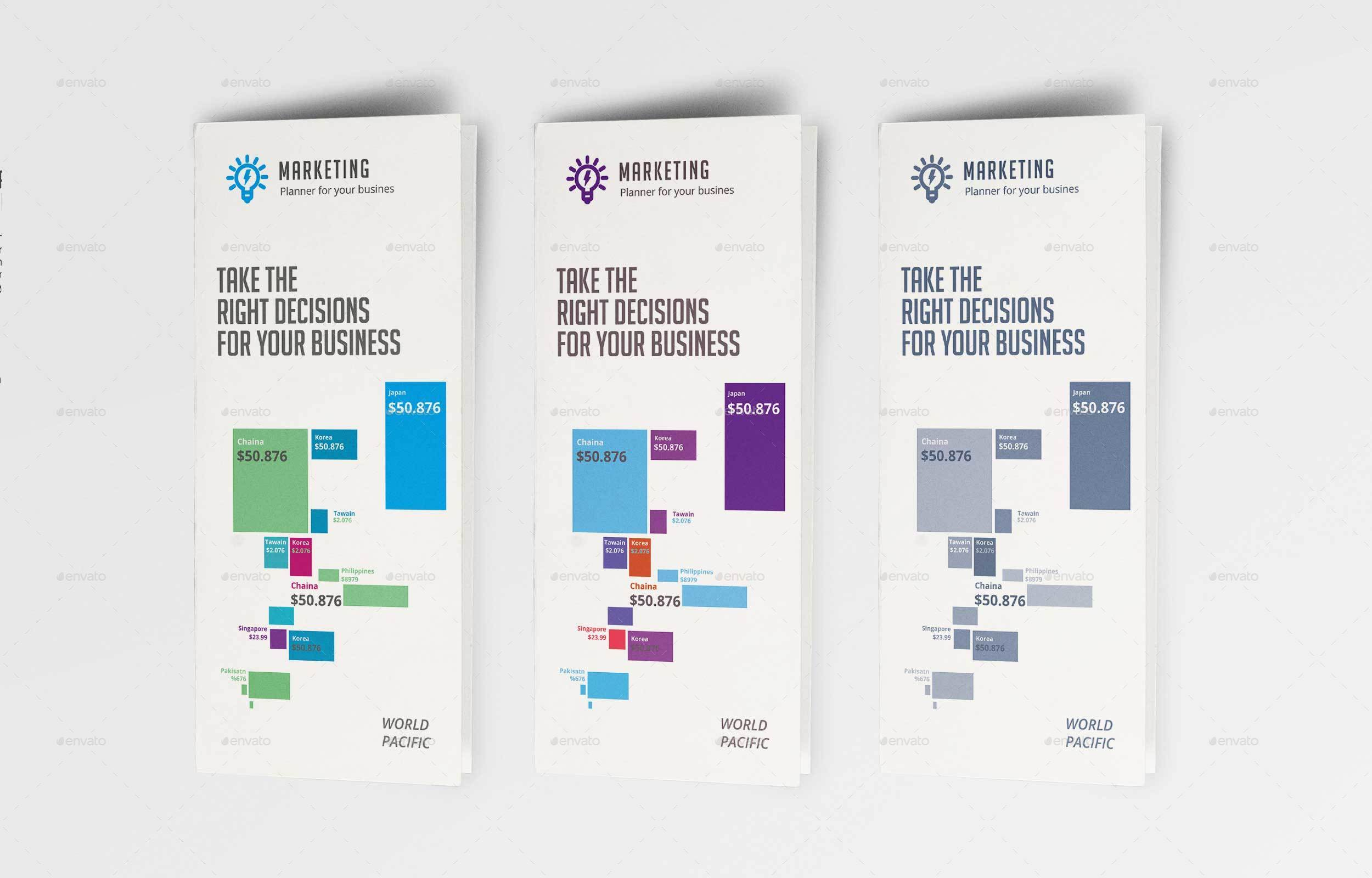 Infographic Brochure Template By Suzonabdullah GraphicRiver - Infographic brochure template