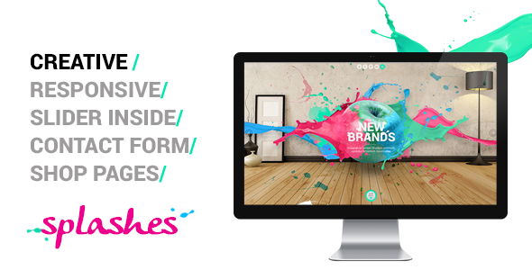 Splashes – Creative Agency Template