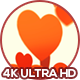 Valentine's Day Hearts Flying Away - VideoHive Item for Sale