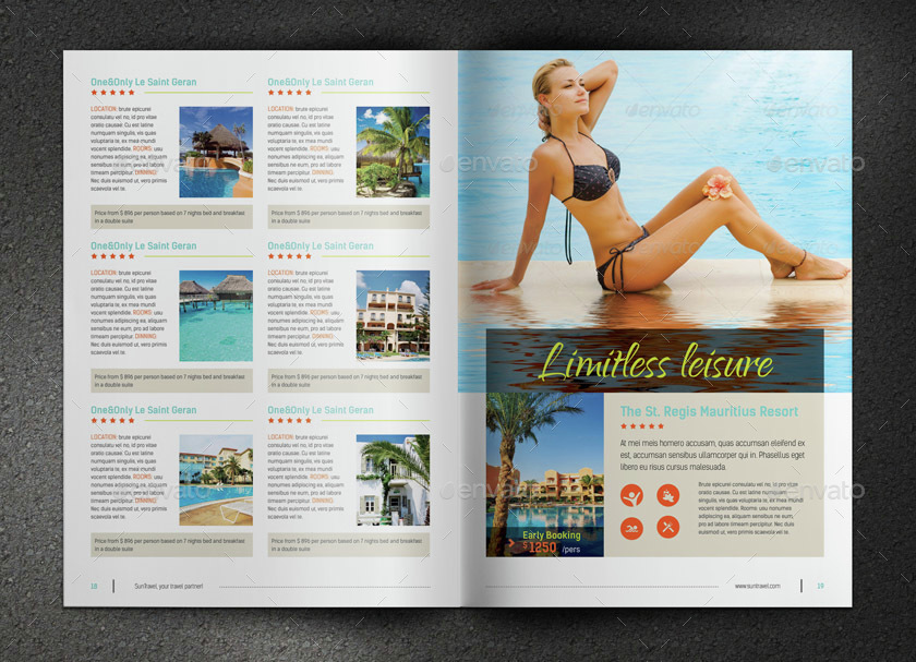 Travel Brochure By SabinVp  Graphicriver