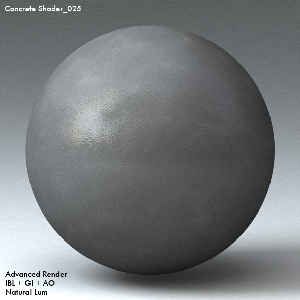 Concrete Shader_025 - 3DOcean Item for Sale