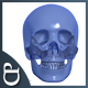 SD Rotating skull - 3 Animations / 5 Colors - VideoHive Item for Sale